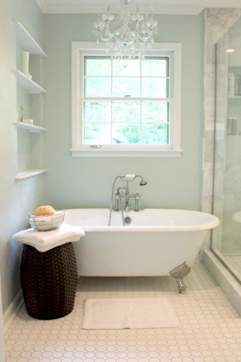 Vintage paint colors bathroom ideas (27) - Round Decor