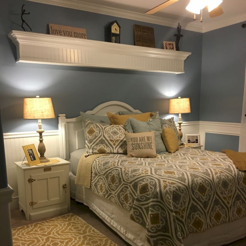Visually pleasant yellow and grey bedroom designs ideas 01 ...