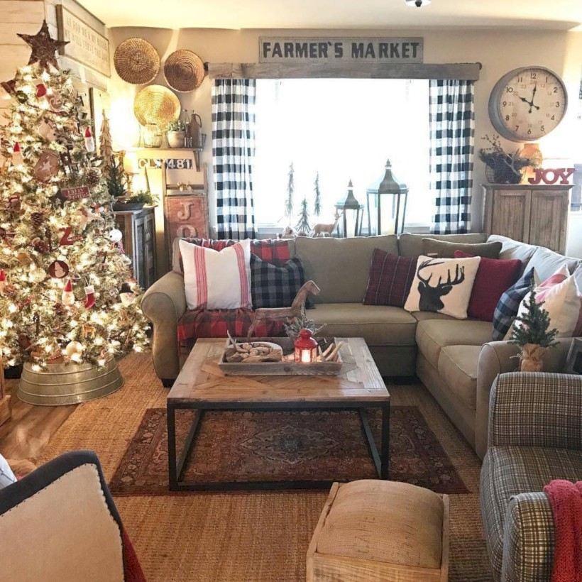 25 Decorating Ideas For A Cozy Home Decor: 35 Cozy Christmas Decoration Ideas For Your Apartment