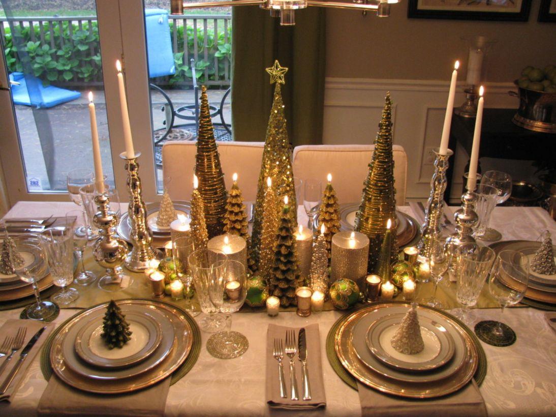 modern christmas table centerpieces ideas you will totally love  - modern christmas table centerpieces ideas you will totally love