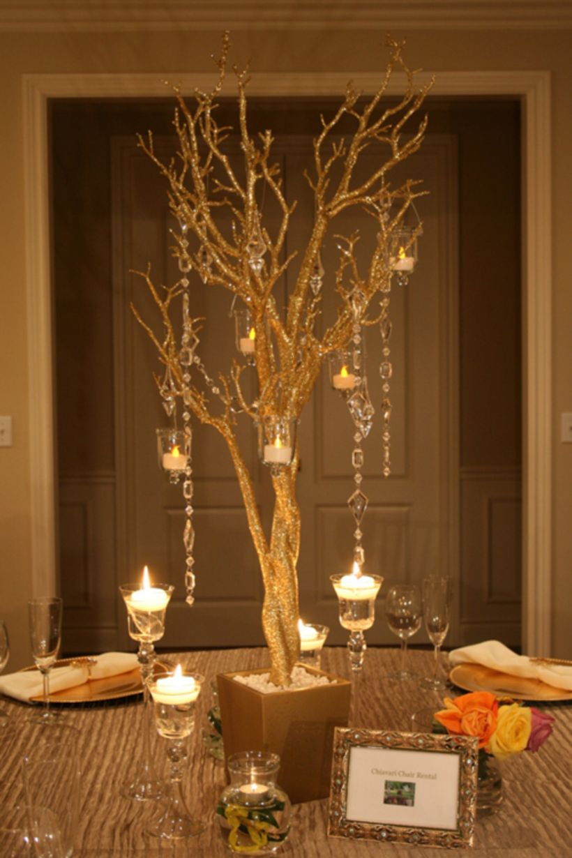 Published November 14, 2017 at 820 × 1230 in 36 Romantic Christmas Tree Wedding Centerpieces Ideas