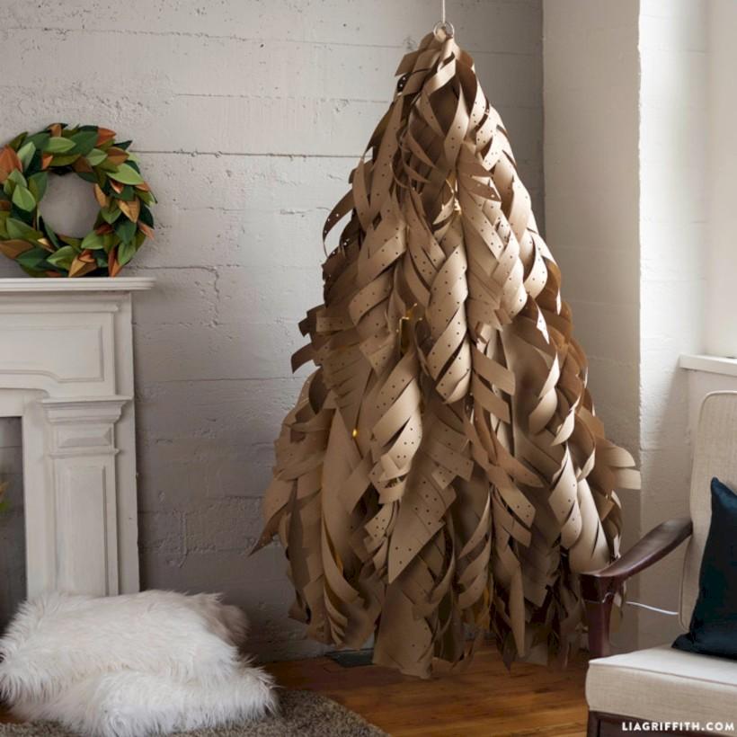 unique christmas tree decoration ideas for your alternatives 28