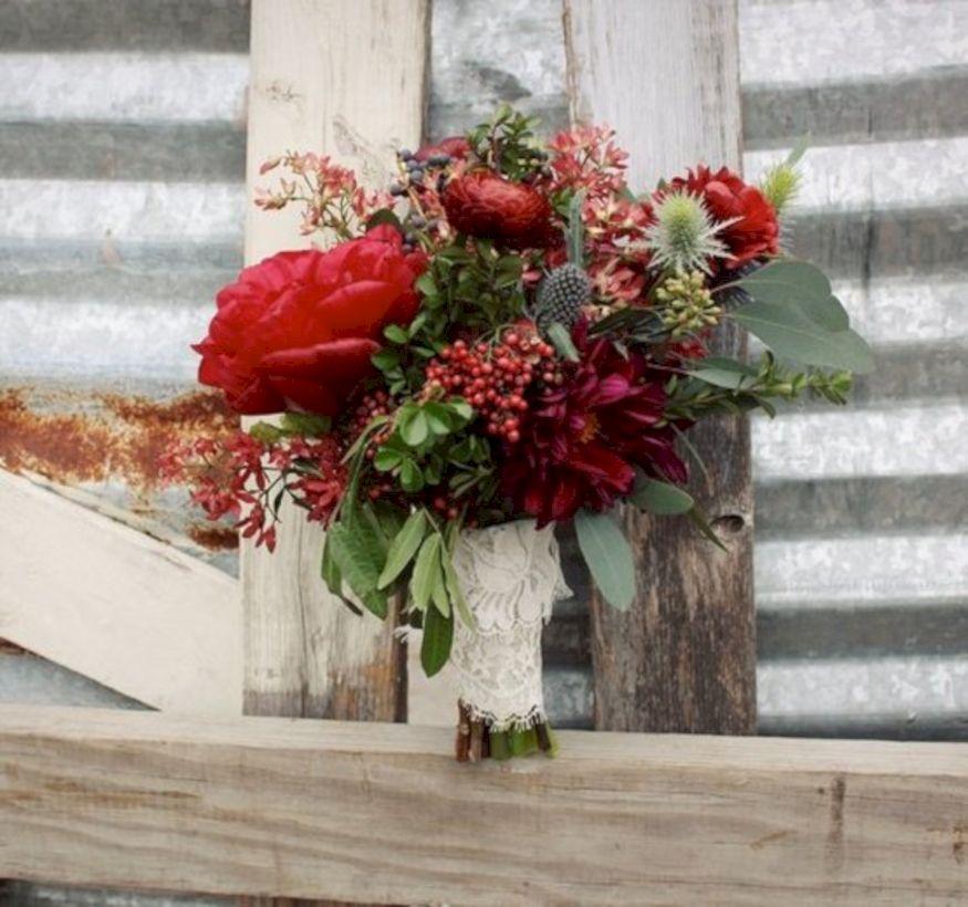Winter Wedding Flowers Ideas: 41 Wonderful Winter Wedding Bouquets Ideas You Will Love
