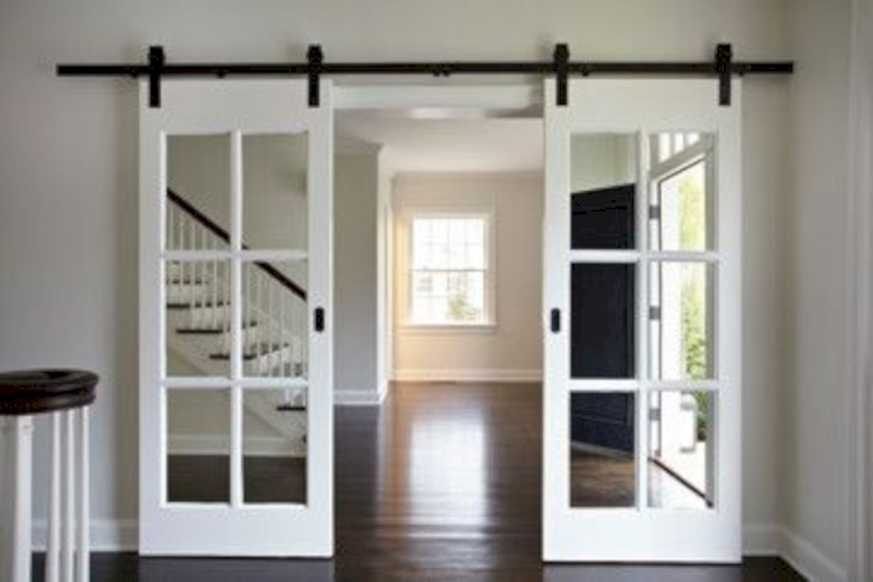 45 awesome interior sliding doors design ideas for every for Interior sliding glass doors