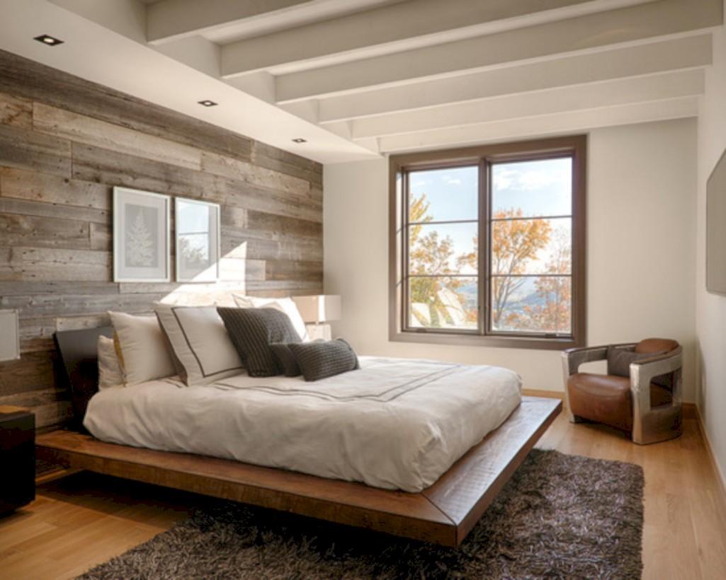 40 Cozy Bedrooms Design Ideas With Brilliant Accent Walls Round Decor