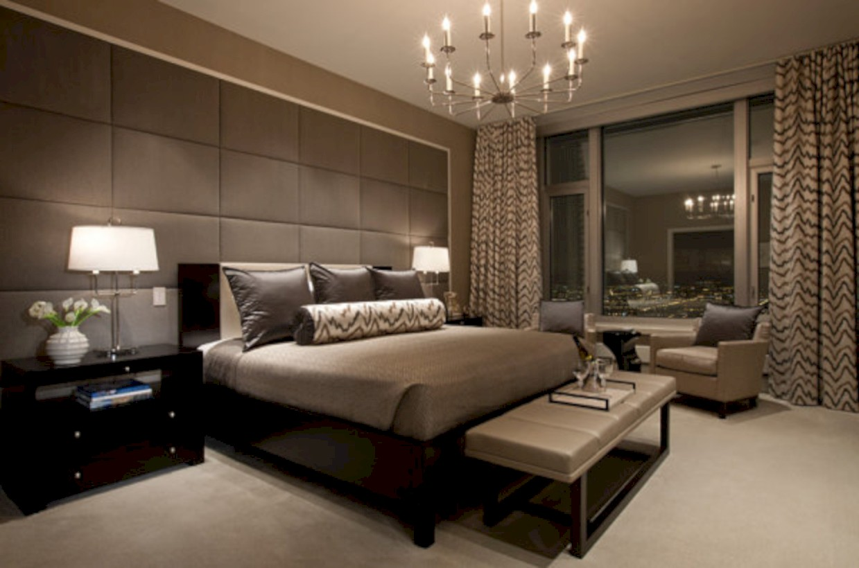 Stunning and elegant bedroom lighting ideas 21