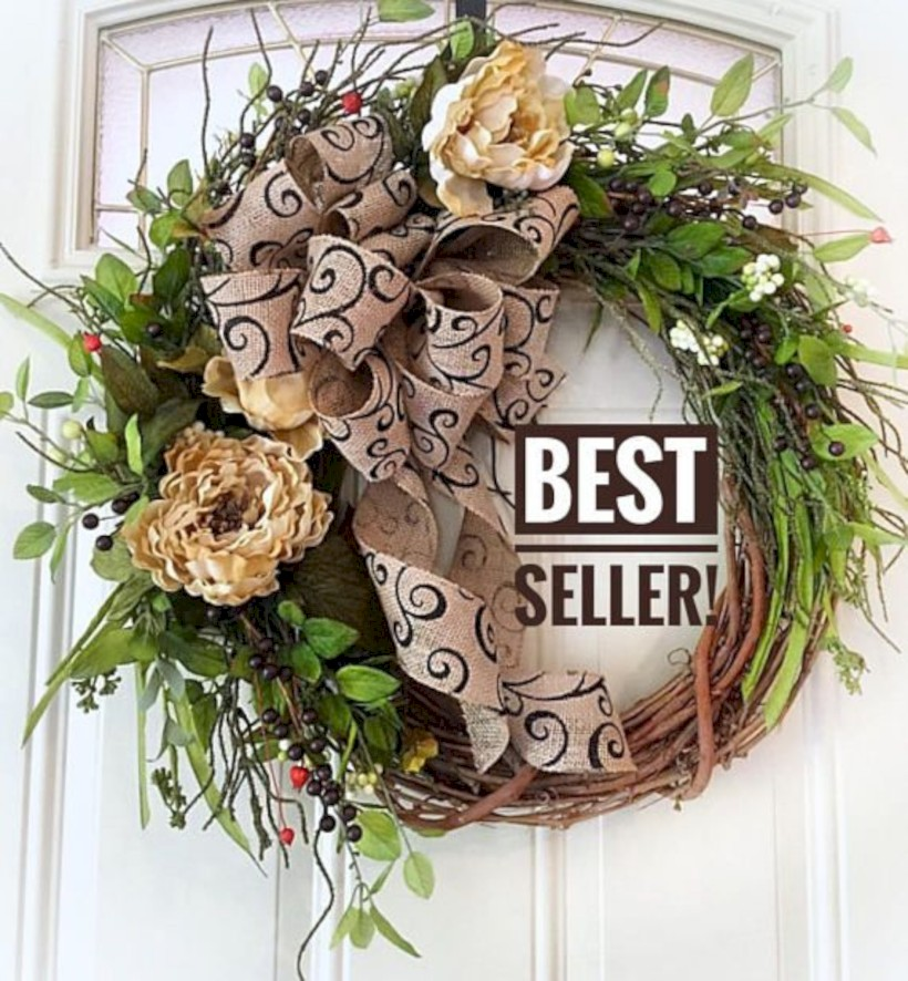 Awesome Valentine Wreaths Ideas For Your Front Door 41 Round Decor