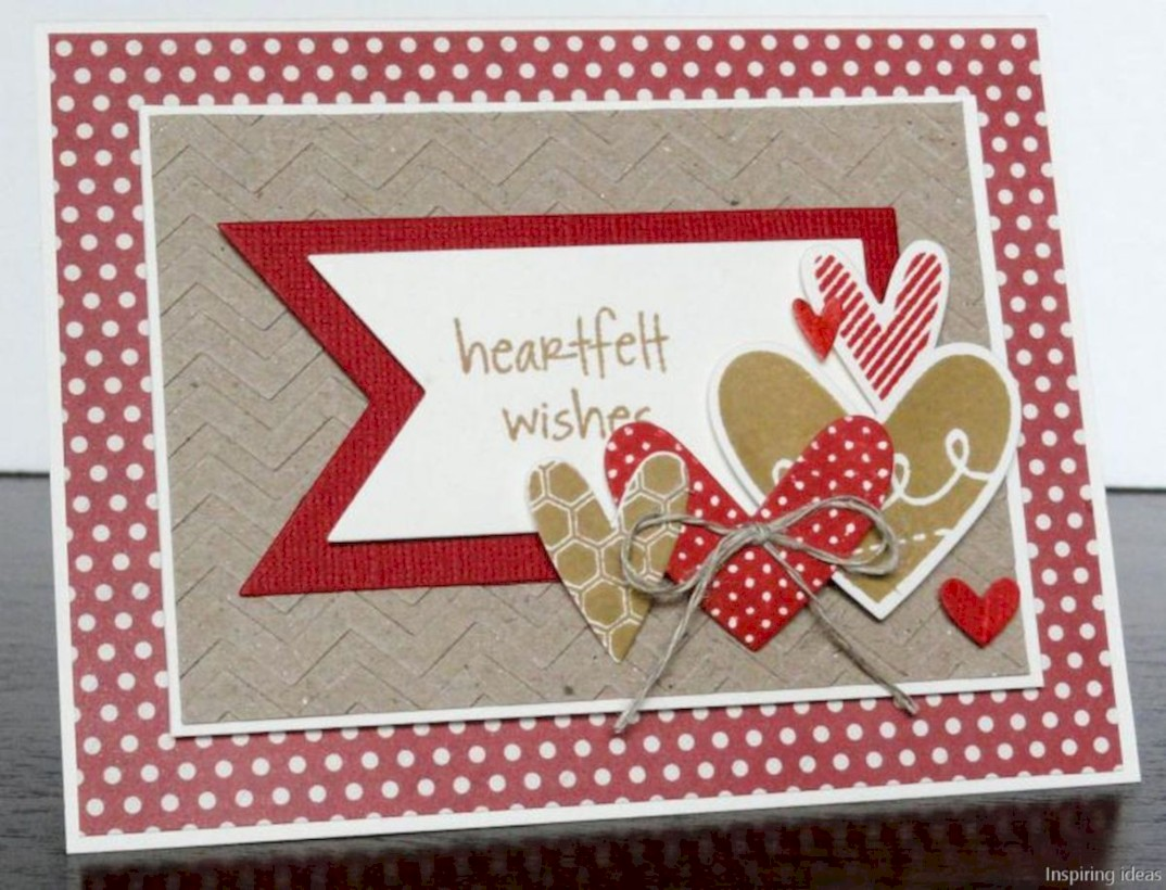 Creative valentine cards homemade ideas 31
