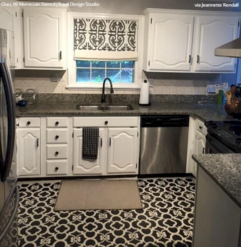 Gorgeous kitchen floor tiles design ideas (38)