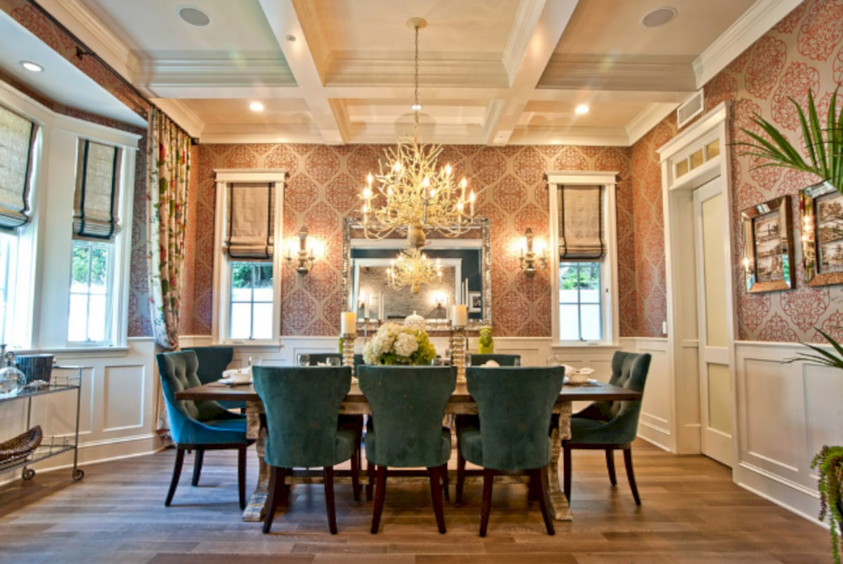 Luxury dining room design ideas you will love (42)