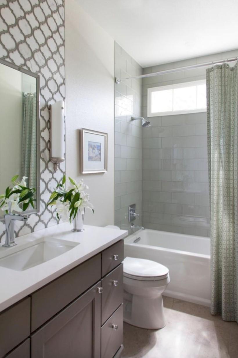 Stunning attic bathroom makeover ideas on a budget 33 - Round Decor