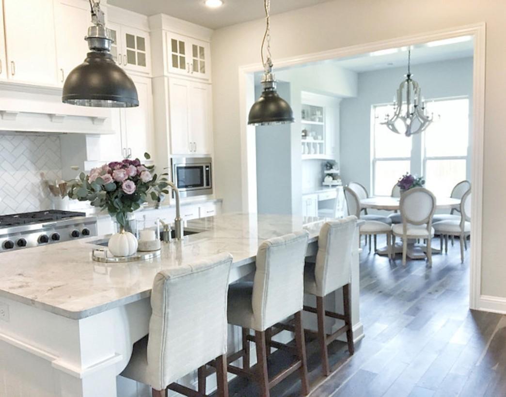 Beautiful gray kitchen cabinets design ideas 41