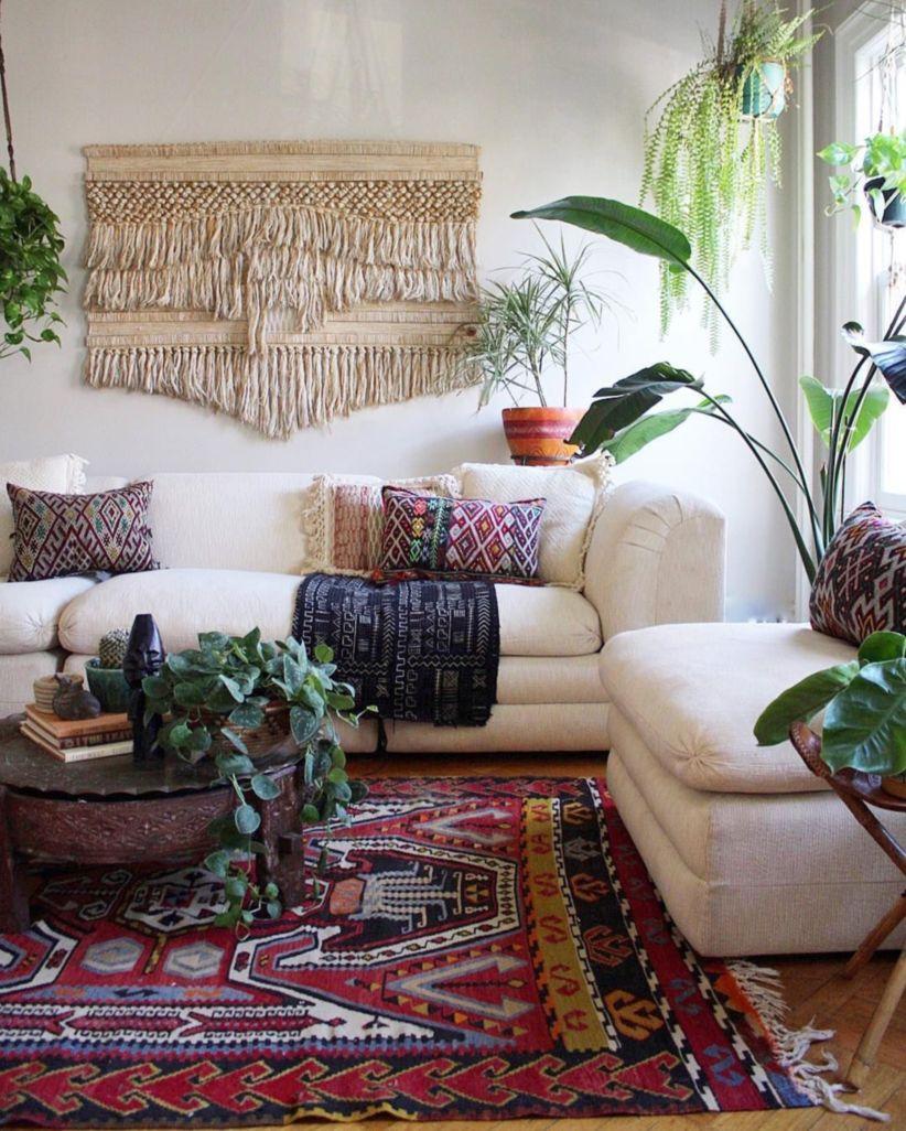 Attirant ... 822 × 1026 In 48 Amazing Bohemian Style Living Room ...