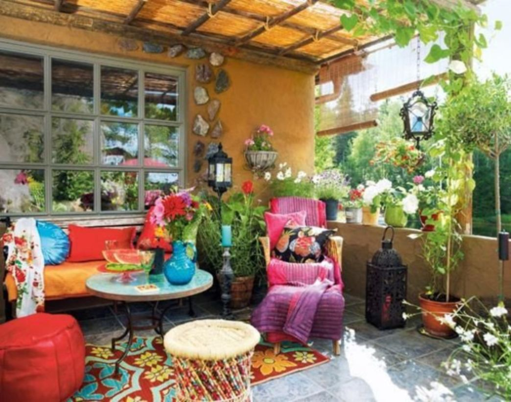 Awesome bohemian style home decor ideas (39)