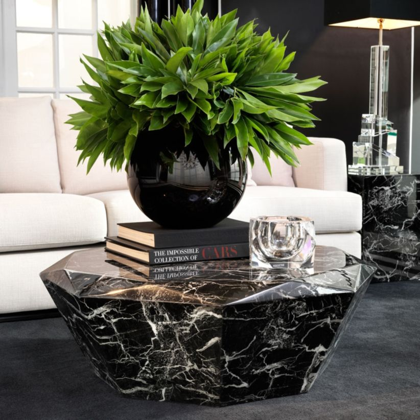 Beautiful marble coffee table design ideas for living room (28)