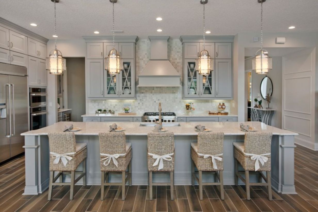 Cool Coastal Kitchen Design Ideas (34)