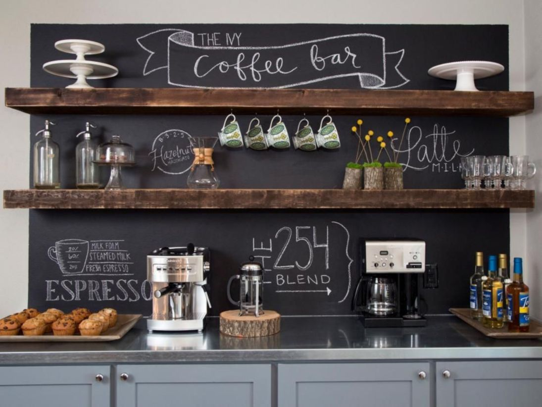 Exceptional Fantastic Home Coffee Bar Design Ideas You May Try (32). Published April  29, 2018 At 1095 × 822 In 49 Fantastic Home Coffee Bar Design Ideas ...