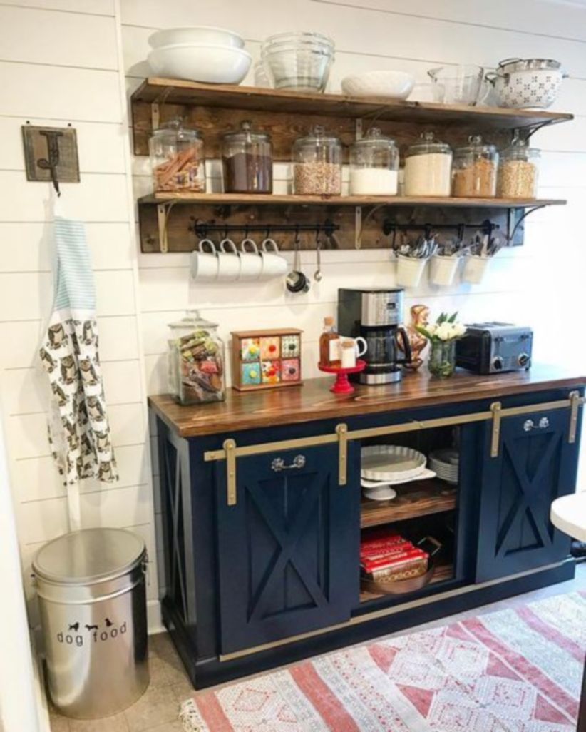 Fantastic Home Coffee Bar Design Ideas You May Try (49). Published April  29, 2018 At 822 × 1026 In 49 Fantastic Home Coffee Bar Design Ideas ...