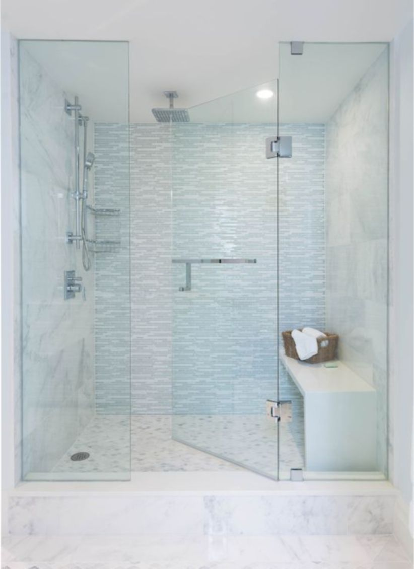 Awesome bathroom tile shower design ideas (1) - Round Decor