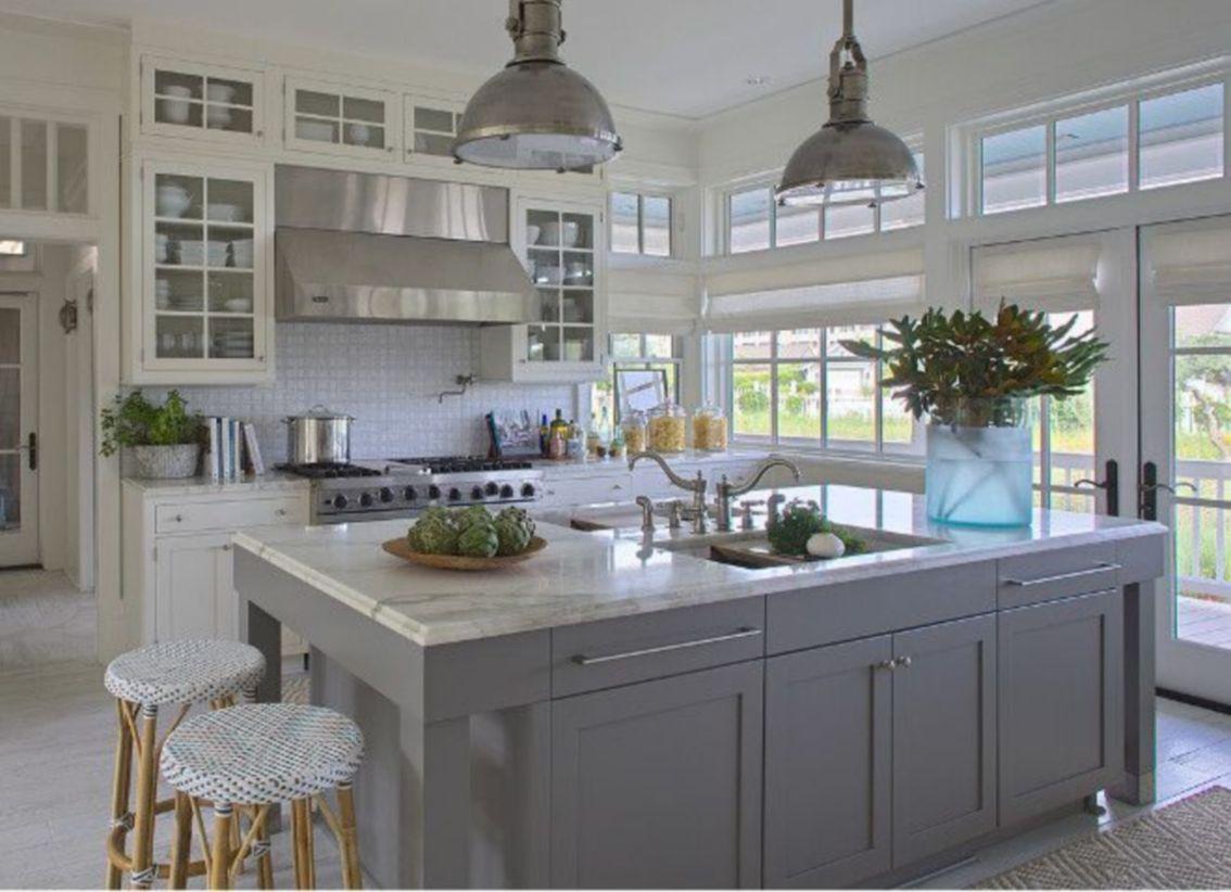 Creative kitchen islands stove top makeover ideas (42)