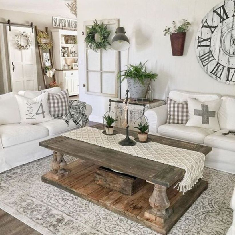 Elegant Home Decor Ideas: 45 Elegant Farmhouse Decor Ideas For Your Home