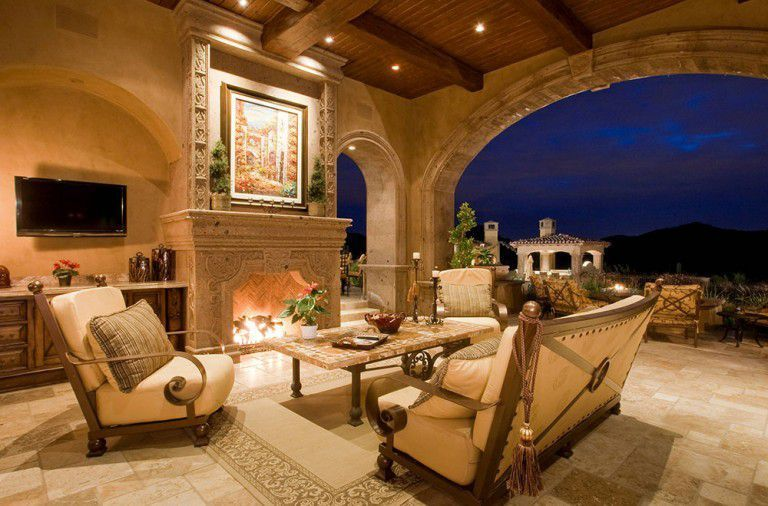 Sophisticated mediterranean porch designs youll fall in love with 44