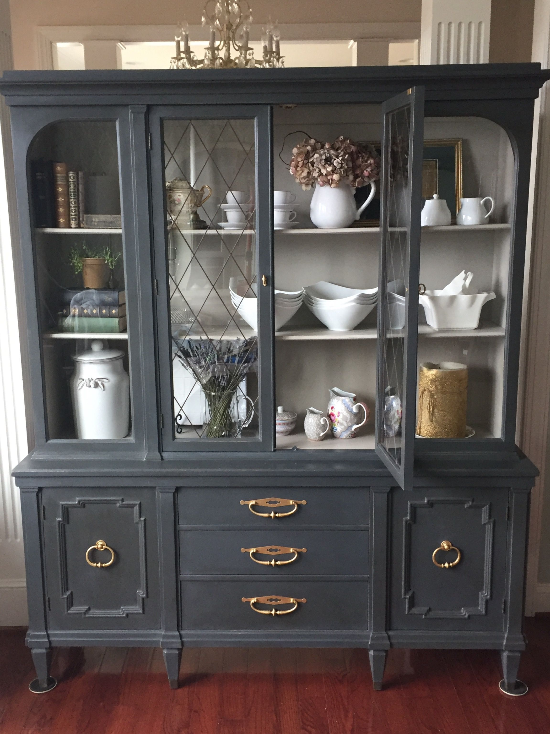Most Unique China Cabinet Makeover Ideas 15 Roundecor