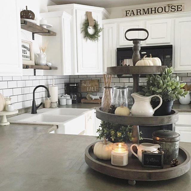 10 Amazing Rustic Kitchen Decor Ideas: 42 Amazing Farmhouse Kitchen Decor Ideas For Inspiration