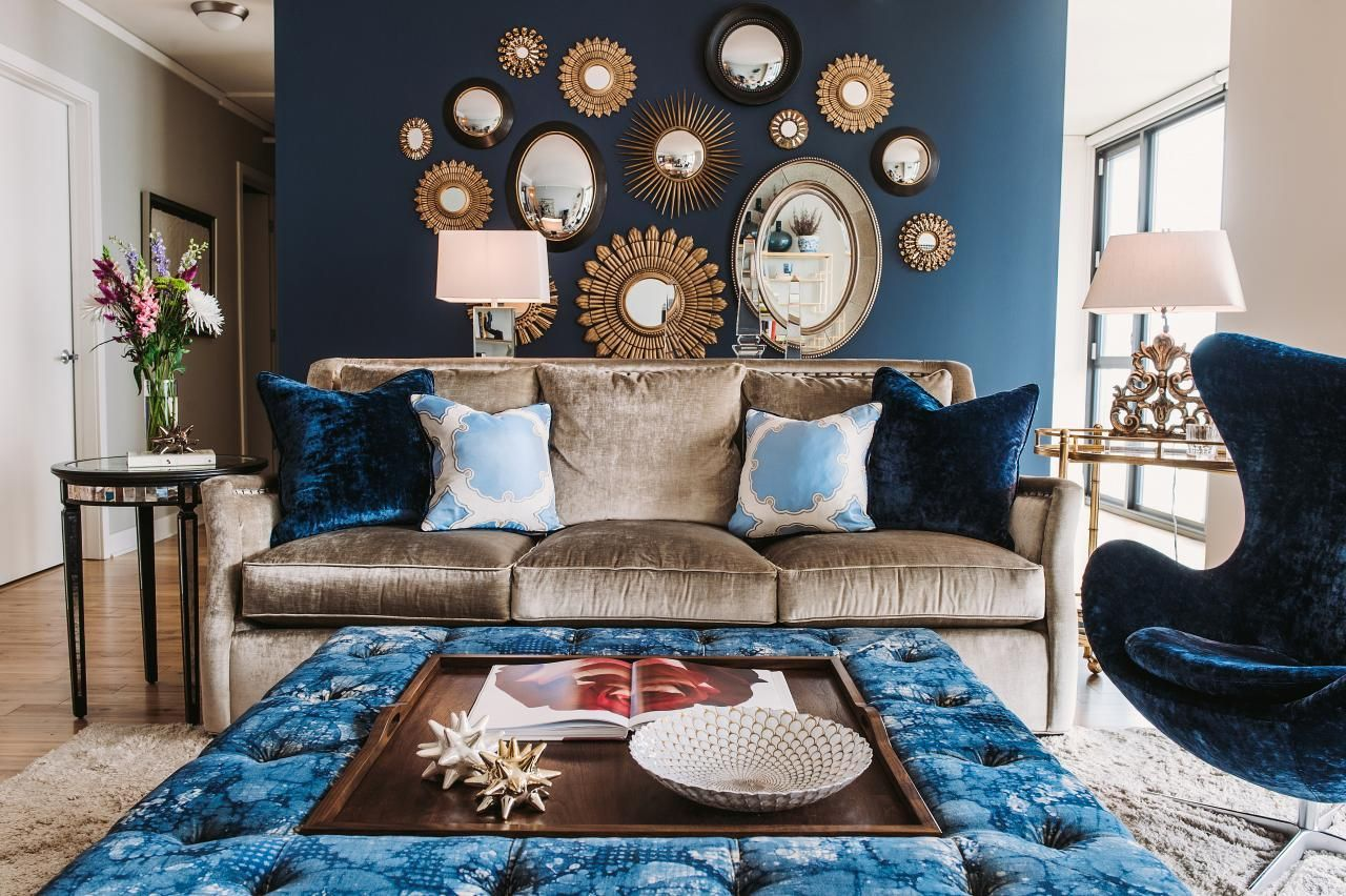Gorgeous ideas on creating color harmony in interior design 26