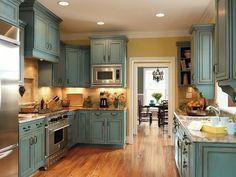 Creative kitchen cabinets makeover ideas 38