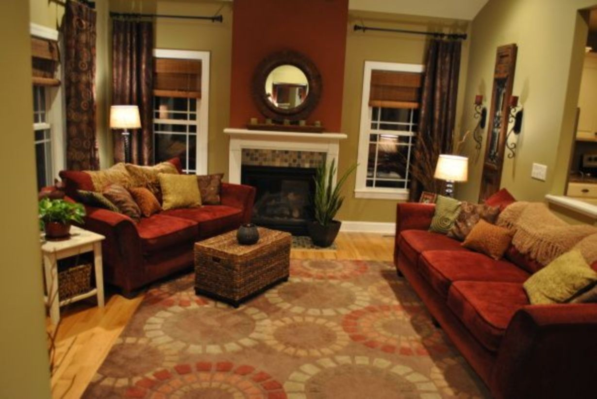 44 Amazing Living Room Paint Ideas By Brown Furniture