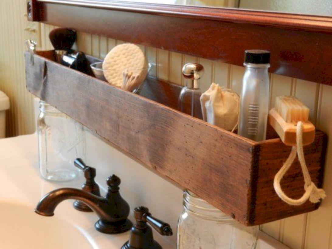 Simple bathroom storage ideas 16
