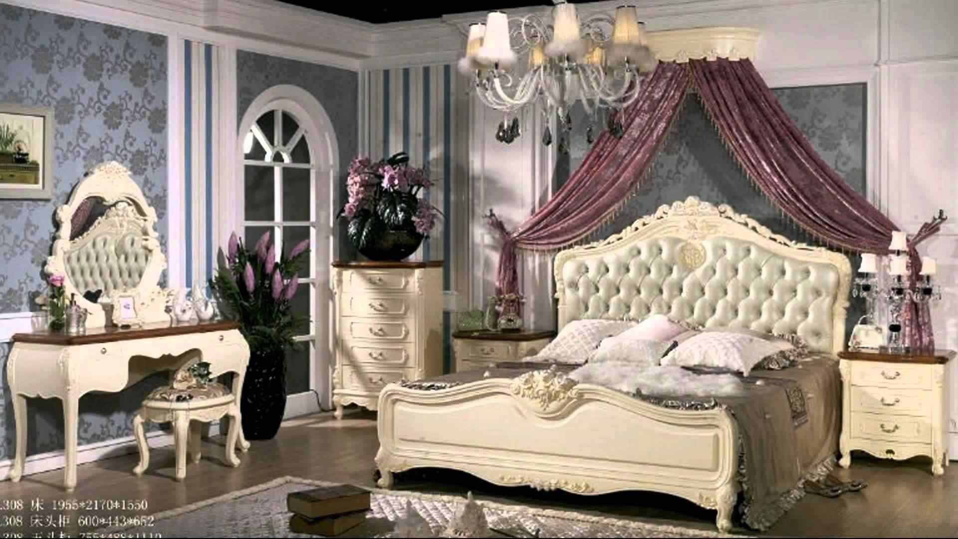 44 Awesome French Style Bedroom Decor Ideas - ROUNDECOR