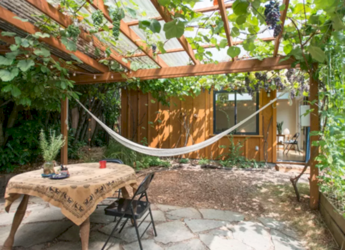 Best backyard hammock decor ideas 28