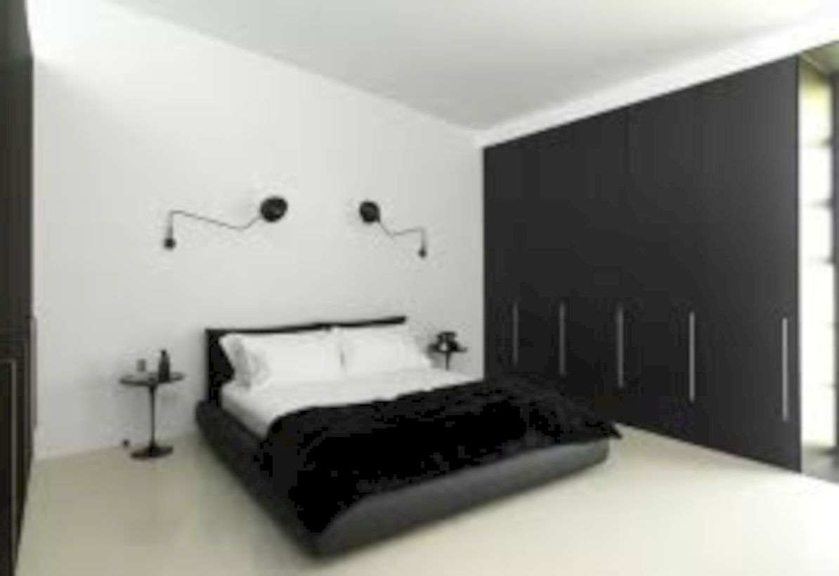 Modern Tiny Bedroom With Black And White Designs Ideas For Small Es 17