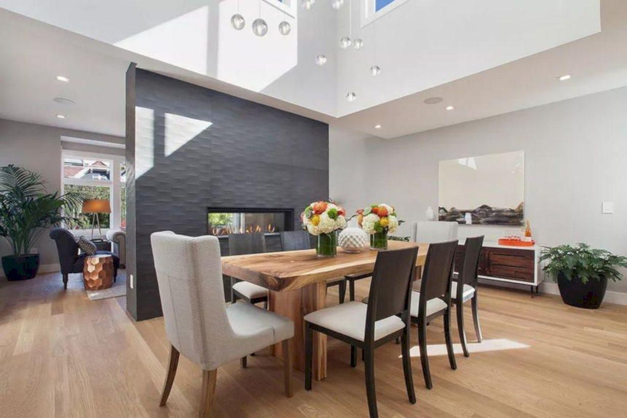 Lovely dining room tiles design ideas 35