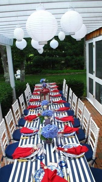 Newest 4th Of July Table Decorations Ideas 11 Round Decor